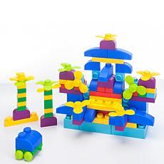 UNiPLAY Plus Soft Building Blocks 122-Piece