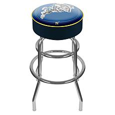 United States Naval Academy Padded Bar Stool