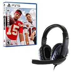 Universal Wired Gaming Headset with Madden NFL 22 for PlayStation 5