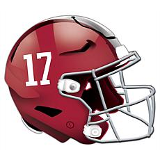 University of Alabama Helmet Cutout