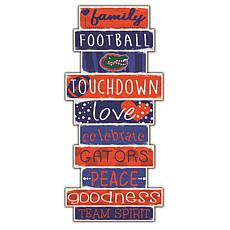 "University of Florida Celebrations Stack 24"" Sign"
