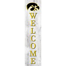 "University of Iowa 48"" Welcome Leaner"