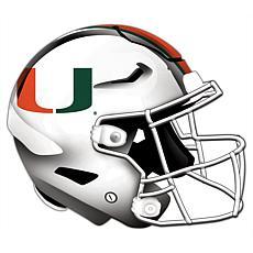 University of Miami Helmet Cutout