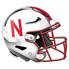 University of Nebraska Helmet Cutout