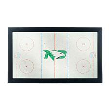 University of North Dakota Logo and Mascot Framed Mirro