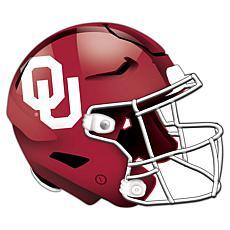 University of Oklahoma Helmet Cutout