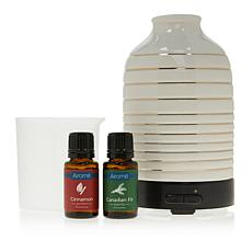 UnMatched-Airome Ultrasonic Serenity Diffuser with 2 Essential Oils