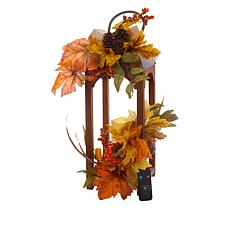 Unmatched Harvest Lantern with Flameless Candle