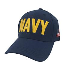 U.S. Navy Adjustable Cap with U.S. Flag Side Patch