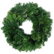 "Van Zyverden Fresh Cut 20"" Pacific Northwest Silver Fir Wreath"