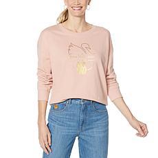 Vanderbilt Jeans Shay Logo French Terry Sweatshirt
