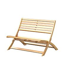 Verso Wooden Folding Bench
