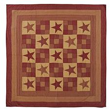 VHC Brands Ninepatch Star Quilt - King