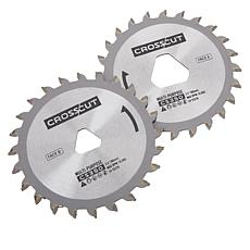 Viatek CrossCut Saw Twin Blade Replacement 2-pack