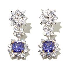 Victoria Wieck Absolute™ & Simulated Tanzanite Earrings
