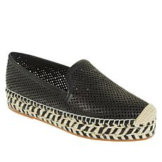Vince Camuto Hamorra Leather Platform Espadrille