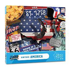 Vintage American Retro Series Puzzle