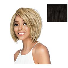 """Vivica Fox 9"""" Layered Choppy Cut Bob with Invisible Side Part"""