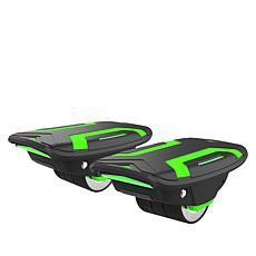 Voyager Space Shoes Self-Balancing Green Hover Shoes