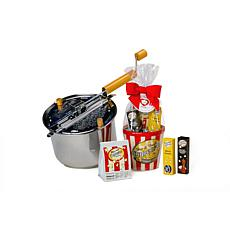 Wabash Valley Farms 5pc Stainless Steel Whirley Pop w/Bowl Popcorn Set