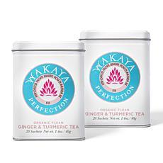 Wakaya Perfection 2-pack Ginger Turmeric Tea Auto-Ship®