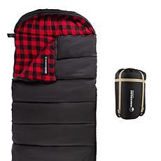 Wakeman Outdoors XL 3 Season Sleeping Bag with Carry Bag