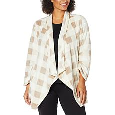 Warm & Cozy Plush Lounging Cardigan