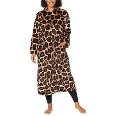 Warm & Cozy Super Soft Style & Comfort Zip-Front Robe