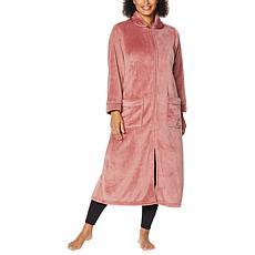 Warm & Cozy Super Soft Style & Comfort Zip-Front Robe