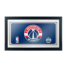 Washington Wizards NBA Framed Logo Mirror
