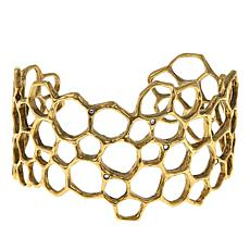 "Waxing Poetic® ""Honey Love"" Crystal Cuff Bracelet"
