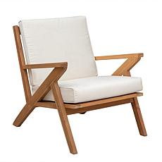 Well Traveled Living Oslo Wooden Armchair