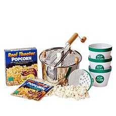 Whirley Pop 3-piece Popcorn Starter Kit with Buckets