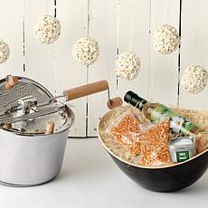 Whirley Pop Stainless Steel All Natural Popcorn Set