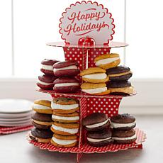 Wicked Whoopies 20-count Junior Whoopie Pies with Cake Stand