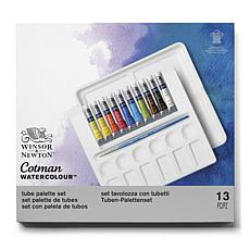 Winsor and Newtown Cotman Watercolor Palette Set of 10