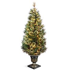 Winter Lane 5' Wispy Willow Entrance Tree w/Lights