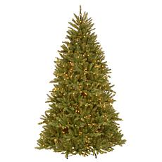 Winter Lane 7-1/2' Dunhill Fir Hinged Tree w/Lights