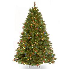 Winter Lane 7-1/2' Winchester Pine Tree w/Multicolor