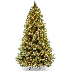 Winter Lane 7-1/2' Wintry Pine Medium Tree w/Lights