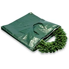 Winter Lane Heavy-Duty Wreath and Garland Storage Bag