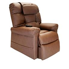 WiseLift Faux Leather Sleeper Lift Chair