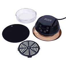 Wolfgang Puck 1000-Watt Air Fryer Lid with Accessories