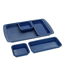 Wolfgang Puck Nonstick Sheet Pan and 4 Silicone Trays