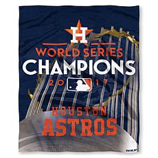 "World Series 2017 Champions 50"" x 60"" Victor Raschel Throw - Astros"