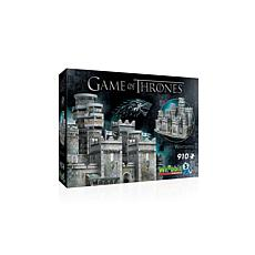 Wrebbit Game of Thrones Winterfell 910-piece 3D Puzzle