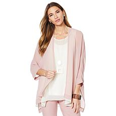 WynneLayers Chiffon Open Cardigan