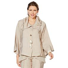 WynneLayers Drawstring Malibu Jacket