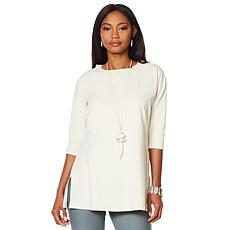 WynneLayers Elbow Sleeve Tunic