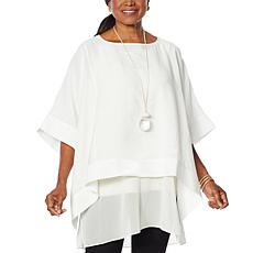 WynneLayers Hamptons Poncho Top